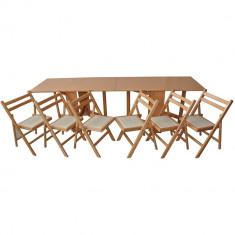 Bucatarie standard - Set masa plianta de 12 persoane