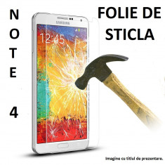 FOLIE STICLA Samsung Galaxy NOTE 4 0.33mm, 2.5D tempered glass antisoc Protectie - Folie de protectie Samsung, Anti zgariere
