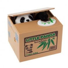 Pusculita automata Panda fura bani urs hot simpatica monezi economiseste +CADOU! - Pusculita copii