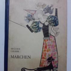 Marchen - Bruder Grimm (in limba germana) / R7P2F - Carte poezie copii