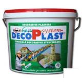 Tencuiala decorativa DecoPlast B1 driscuita 1, 0, 1, 5 si 3 mm - 28 kg