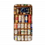 Husa Telefon - Husa Samsung Galaxy S6 Slim Model Beer Cans