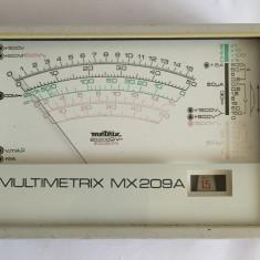 Multimetru -voltmetru-ampermetru analog / aparat masura Multimetrix MX209A - Multimetre
