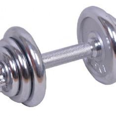 Set gantere cromate 10 kg