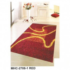 Covor vechi - Covor poliester MHC-2708-1 RED - 90 x 160 cm