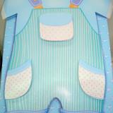 Punga / pungi cadou, 3 D, model bebe - botez, 35/31/10 cm, 1 buc
