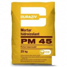 Mortar hidroizolant Duraziv PM 45 - 25 kg - Malaxor constructii