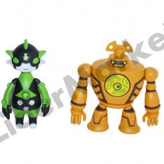 Figurina Desene animate - Ben 10 - set doua figurine Omniverse 7 cu proiectie 0856-10