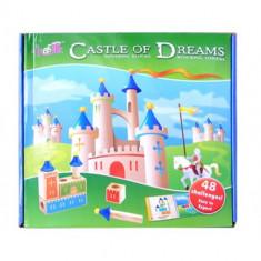 Joc de constructie din lemn - Castle of Dreams - Jocuri Seturi constructie, 4-6 ani, Unisex