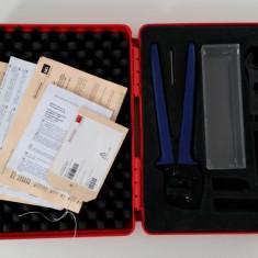Set de cleste sertizat conectori MC4 folosit pt. inst. sistemelor fotovoltaice