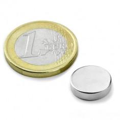 Magnet neodim disc, diametru 12 mm, putere 3 kg
