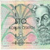 SV * Republica Ceha / Cehia (ex Cehoslovacia) 100 KORUN 1997 VF+ / -XF - bancnota europa