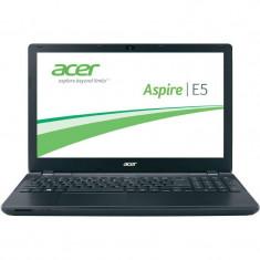 Acer Laptop Acer 15.6'' Aspire E5-571G-375H, HD, Procesor Intel® Core™ i3-4005U (3M Cache, 1.70 GHz), 4GB, 1TB, GeForce 820M 2GB, Linux, Black