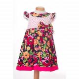 Laura Ashley Rochite de fetite cu bulinute si flori - BBN1052