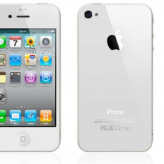 Telefon Apple iPhone 4S White, 16 GB, Wi-Fi, fara incarcator, fara cablu de date