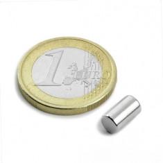 Magnet neodim bara, diametru 5 mm, putere 900 g
