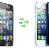 Gevey SIM - Inlocuire Geam Sticla iPhone 5s Negru