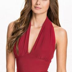 Top dama - BL461-3 Top sexy cu prindere dupa gat si decolteu in V