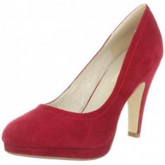 GDY132-3 Pantofi cu toc din piele intoarsa - Pantofi dama, 37