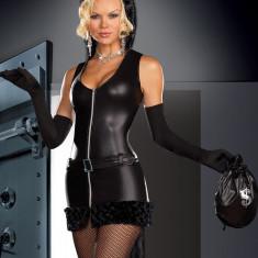 W139 Costum tematic cat burglar - Costum Halloween, Marime: S/M