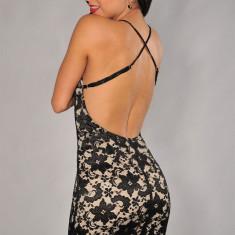 X256 Rochie sexy cu dantela si spatele gol - Rochie de seara, Marime: M