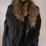 Geaca cu blanita H&M - Geaca dama, Marime: 38, 40, Culoare: Din imagine