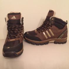 Bocanci barbati Adidas, Piele sintetica - Ghete/Bocanci ADIDAS Imblaniti model nou