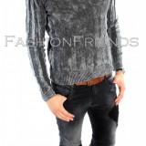 Bluza tip gri ZARA fashion - bluza barbati - cod produs: 5661