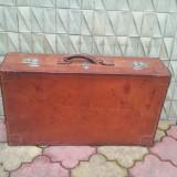 Valiza piele - ( geamantan voiaj ) - anii1930