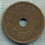 6660 MONEDA - DANEMARCA (DANMARK) - 5 ORE - ANUL 1928 -starea care se vede, Europa, An: 1940