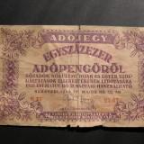 Ungaria  100.000  adopengo  1946  mai  28    Budapesta  E27