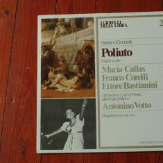 Disc vinil ( vinyl, pick-up ) - GAETANO DONIZETTI - POLIUTO! - Muzica Clasica