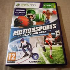 Joc Kinect Motion Sports, xbox360, original, alte sute de jocuri! - Jocuri Xbox 360, Sporturi, 12+, Multiplayer