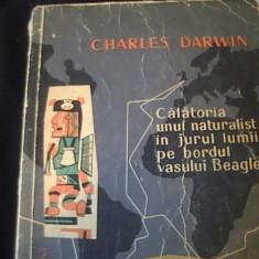 CALATORIA UNUI NATURALIST IN JURUL LUMII-CHARLES DARW526 PG-IN- - Carte Biologie
