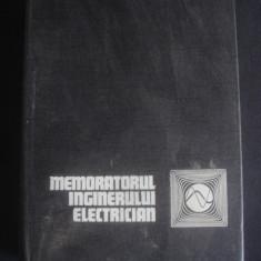 MEMORATORUL INGINERULUI ELECTRICIAN 1971 - Carti Energetica