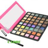 Trusa make up - Trusa Machiaj Profesionala 48 culori mate si sidefate MAC #01 + CADOU Creion MAC