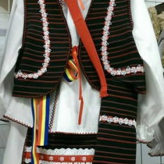 Costum popular fata 86-128 cm 100% bumbac - Costum populare, Marime universala, Negru