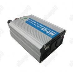 Invertor 12V-220V cu putere 500W - Invertor Auto