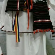Costum popular baieti 86-128 cm 100% bumbac - Costum populare, Marime universala, Negru