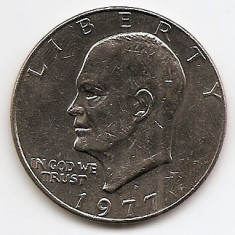 Monede Straine, America de Nord, An: 1977 - Statele Unite (SUA) 1 Dolar 1977 -