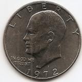"Statele Unite (SUA) 1 Dolar 1972 - ""Eisenhower Dollar"", 38.1 mm, KM-203 (2), America de Nord, An: 1972"