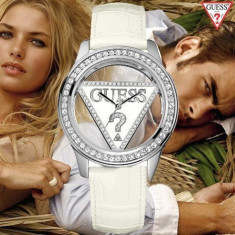 Ceas GUESS Casual Whie Edition - Ceas dama