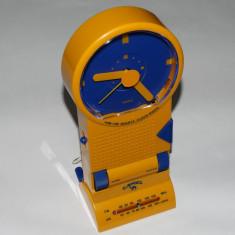 Radio + ceas + alarma de colectie personalizat CAMEL - stare foarte buna - Aparat radio, Analog, 0-40 W