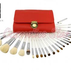 Pensula make-up - Set 26 Pensule Machiaj din par natural Fraulein38 Pensule profesionale