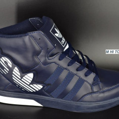 Ghete barbati Adidas, Piele sintetica - Gheata barbateasca ADIDAS - albastru