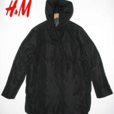 Geaca IARNA Geaca H&M made in Suedia, noua superba, foarte calduroasa si usoara - Geaca dama H&m, Marime: 48, Culoare: Negru