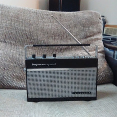 Aparat radio - Radio portabil vintage Telefunken Bajazzo Sport 101 K, impecabil.