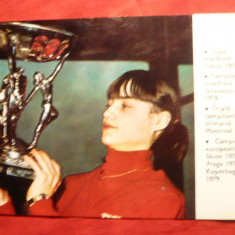 Nadia Comaneci pe Calendar Sport Turism 1980 - Calendar colectie