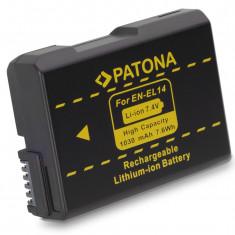 PATONA | Acumulator p Nikon D3100 D3200 D5100 P7000 P7100 P7700 EN EL14 ENEL14 - Baterie Aparat foto
