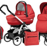 Carucior 3 In 1 Book Plus 51 Black&White Completo Sl - Carucior copii 3 in 1 Peg Perego